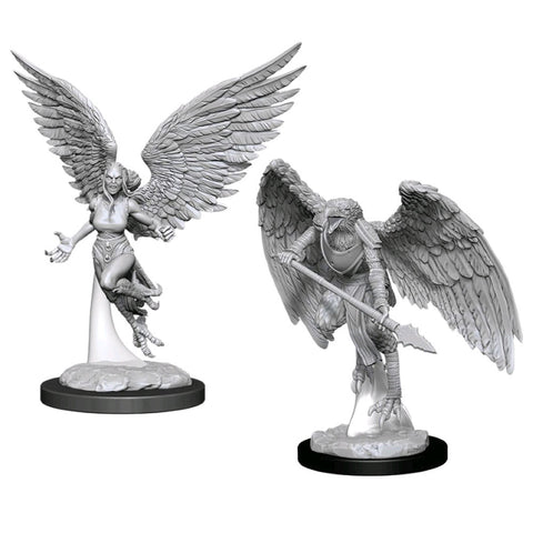 Dungeons And Dragons Nolzurs Marvelous Unpainted Minis Harpy And Arakocra