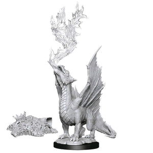 Dungeons And Dragons Nolzurs Marvelous Unpainted Minis Gold Dragon Wyrmling And Treasure
