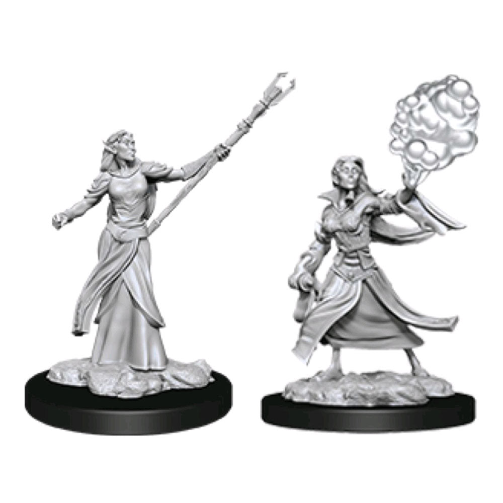 Dungeons & Dragons -Unpainted Female Elf Sorcerer