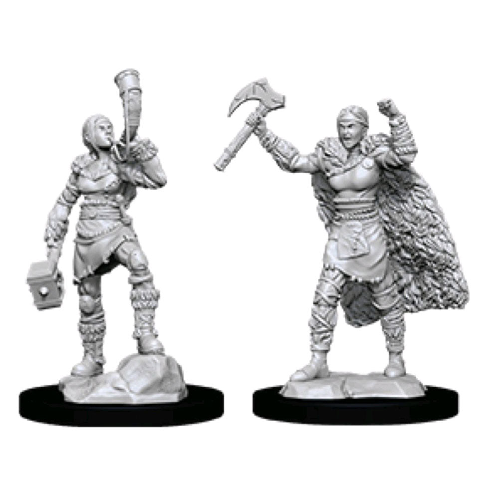 Dungeons & Dragons -Unpainted Female Human Barbarian