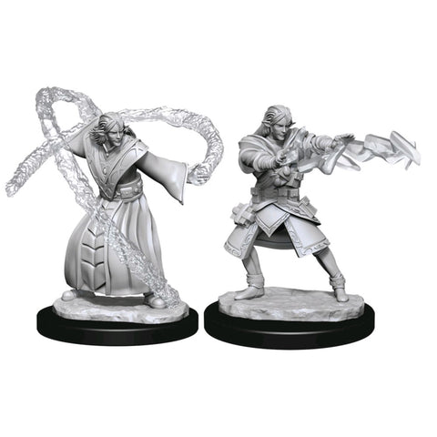 Dungeons & Dragons - Nolzur's Marvelous Unpainted Minis: Elf Wizard Male
