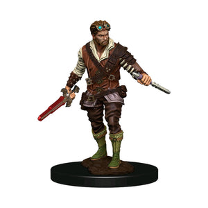 Dungeons & Dragons - Premium Human Rogue Male Miniature
