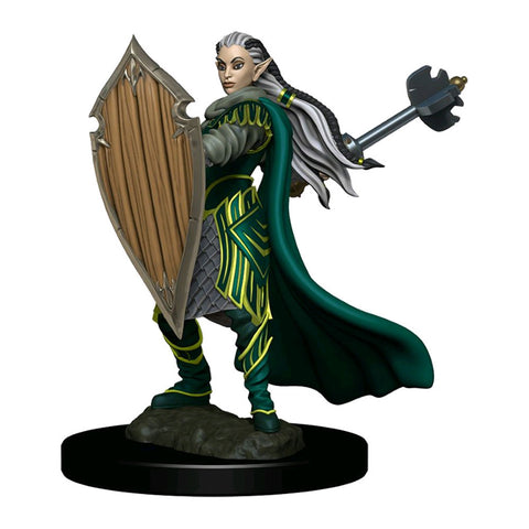 Dungeons & Dragons - Premium Elf Paladin Female Miniature