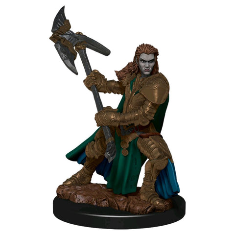 Dungeons & Dragons - Premium Half-Orc Fighter Female Miniature