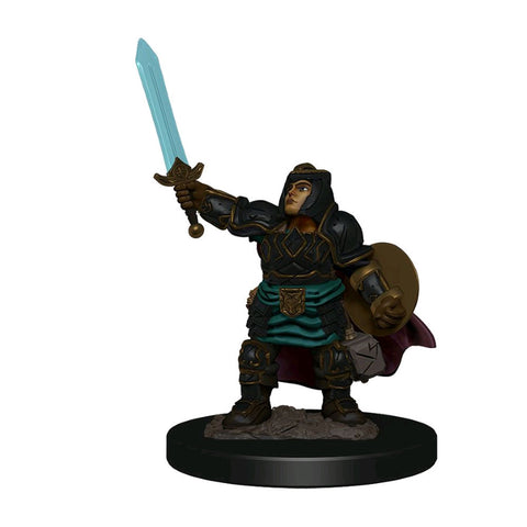 Dungeons & Dragons - Premium Dwarf Paladin Female Miniature