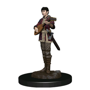 Dungeons & Dragons - Premium Half-Elf Bard Female Miniature