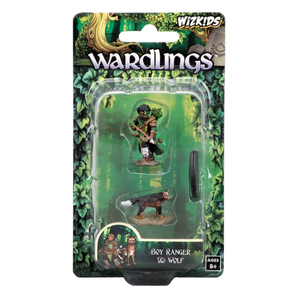 Wardlings - Boy Ranger & Wolf Pre-Painted Minis