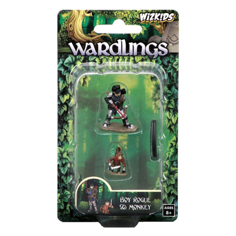 Image of Wardlings - Boy Rogue & Monkey Pre-Painted Minis