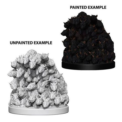 Image of WizKids Deep Cuts Unpainted Minis Swarm of Rats