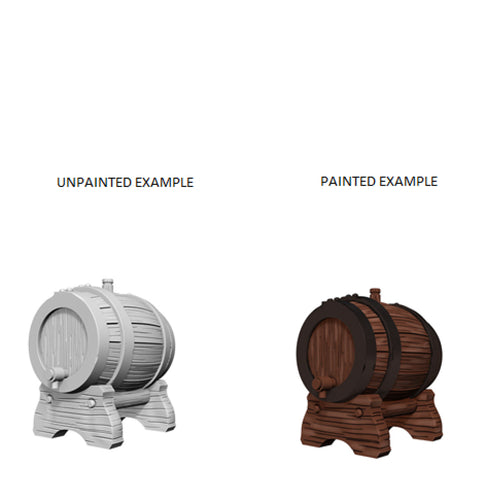 Image of Dungeons And Dragons Unpainted Minis Keg Barrel