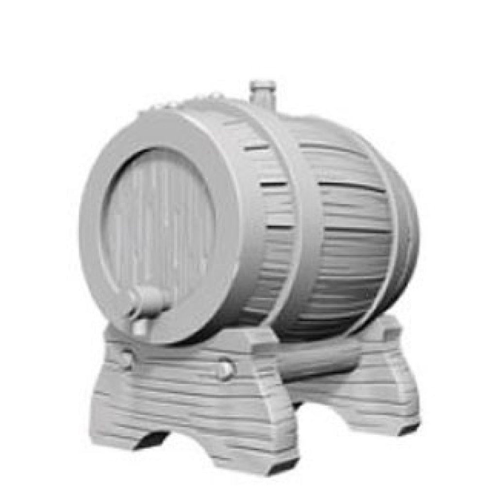Dungeons And Dragons Unpainted Minis Keg Barrel