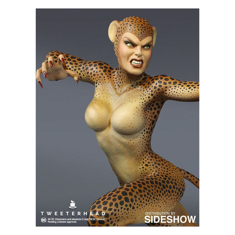 Image of Wonder Woman - Cheetah Super Powers Maquette