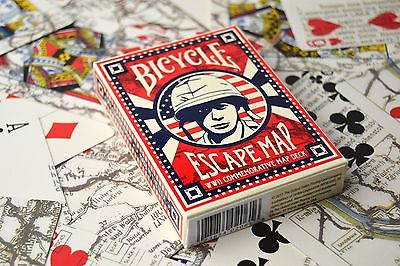 Image of Bicycle Poker Escape Map