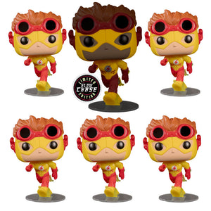 Young Justice - Kid Flash Chase Bundle Pop Vinyl