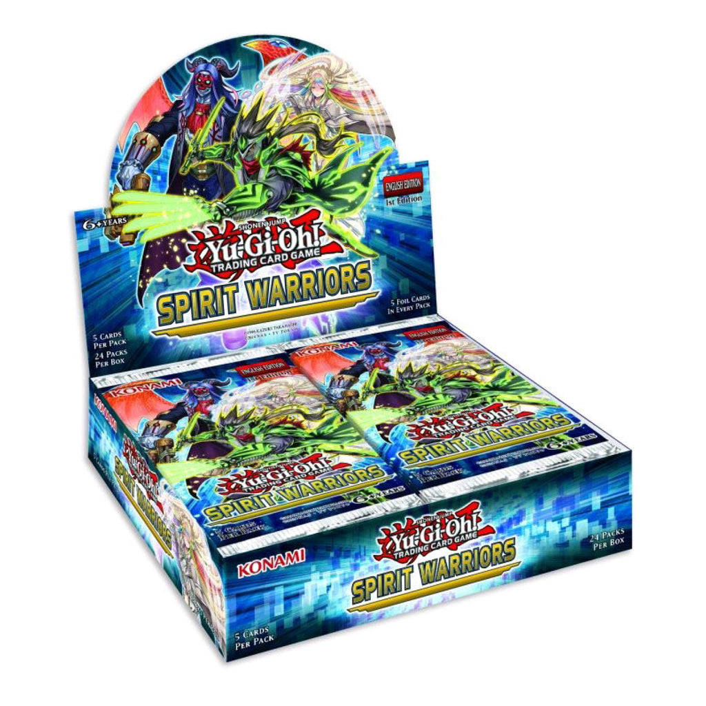 Yugioh Spirit Warriors Booster Box (24 Boosters)