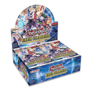 Yugioh Hidden Summoners Booster Box (24 packs)
