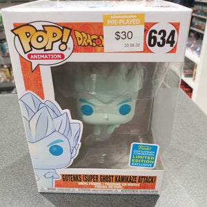 Dragon Ball Z - Gotenks (Duper Ghost Kamikaze Attack) SDCC 2019 US Exclusive Pop! Vinyl
