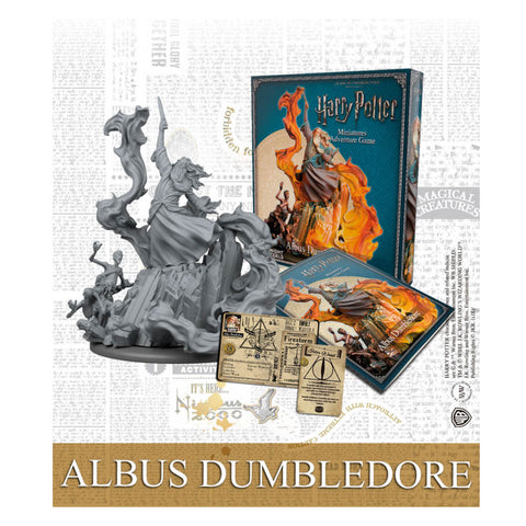 Harry Potter Miniatures Adventure Game Albus Dumbledore