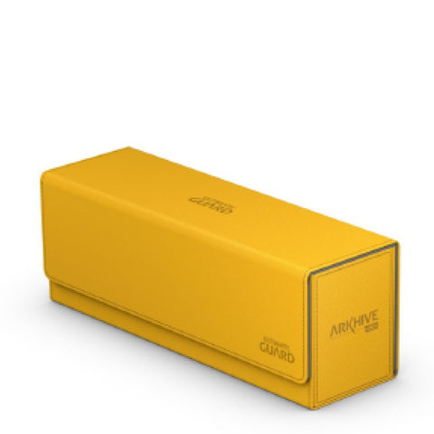 Image of Ultimate Guard Arkhive Flip Case 400+ Standard Size XenoSkin Amber