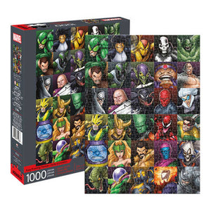 Aquarius Puzzle Marvel Villains Collage Puzzle 1,000 pieces