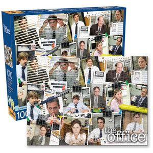 Aquarius Puzzle The Office Cast Puzzle 1,000 pieces