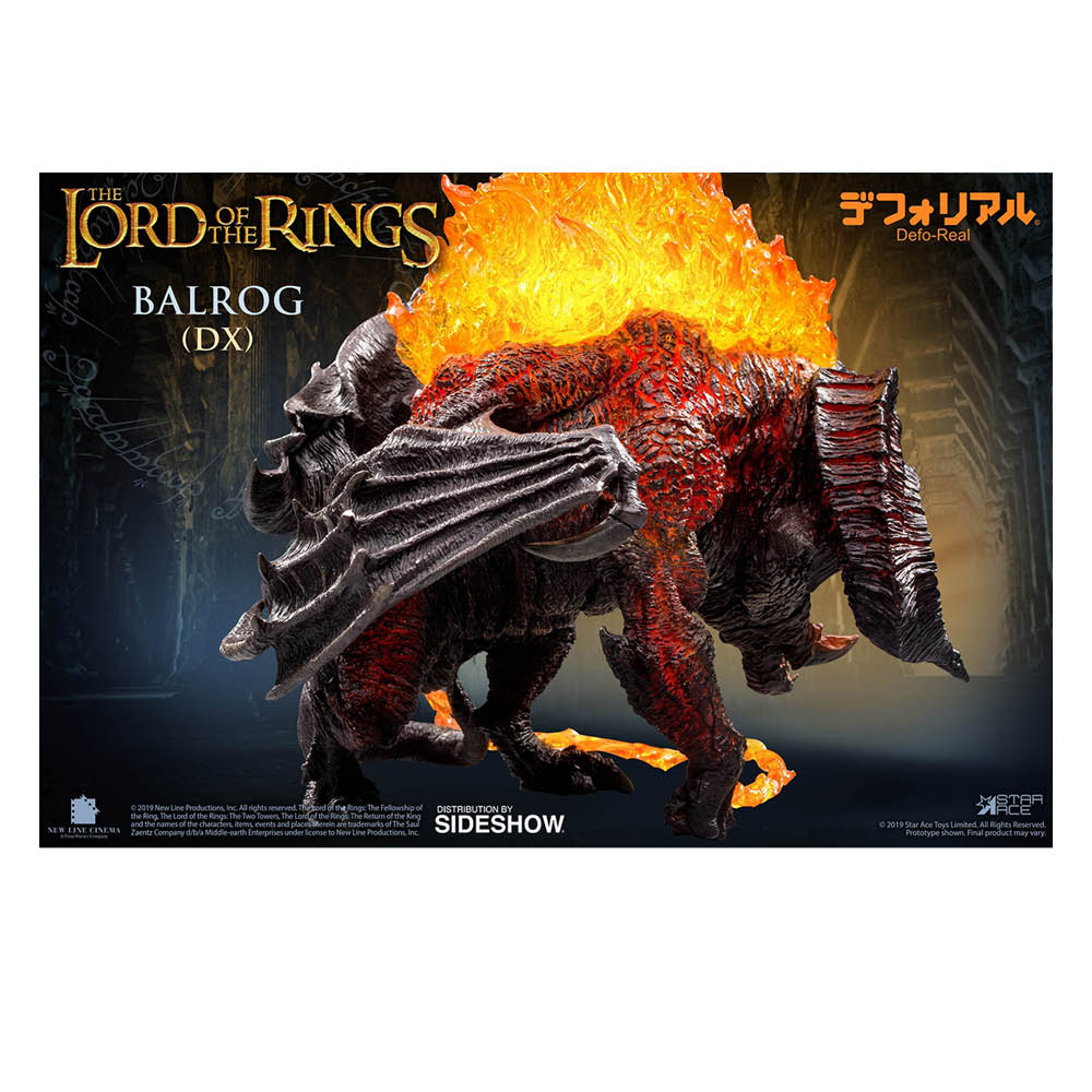 Lord of the Rings - Balrog Deluxe Soft Vinyl Figure