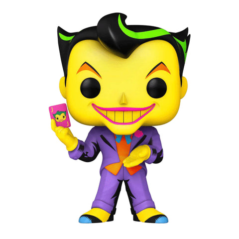 Batman - Joker Blacklight US Exclusive Pop! Vinyl