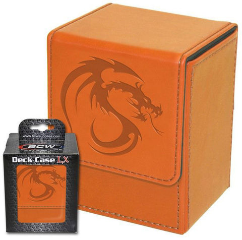 Image of BCW Deck Case Box LX Orange