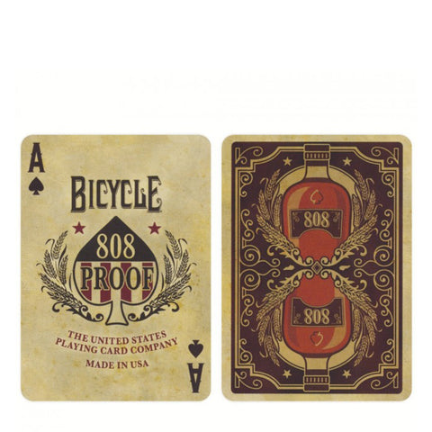 Bicycle Poker Bourbon
