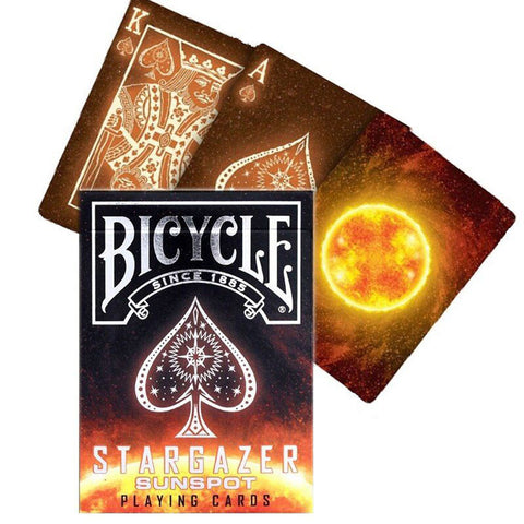Bicycle Stargazer Sun Spot Playing Cards
