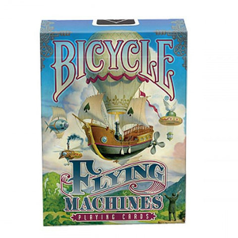 Image of Bicycle Poker Flying Machine