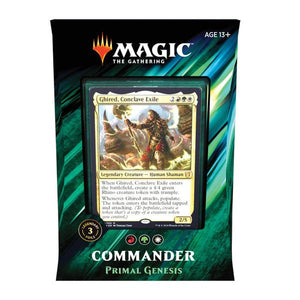 Magic - Commander Deck 2019 Primal Genesis