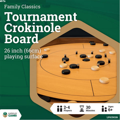 LPG Tournament Crokinole Board (Case of 2)