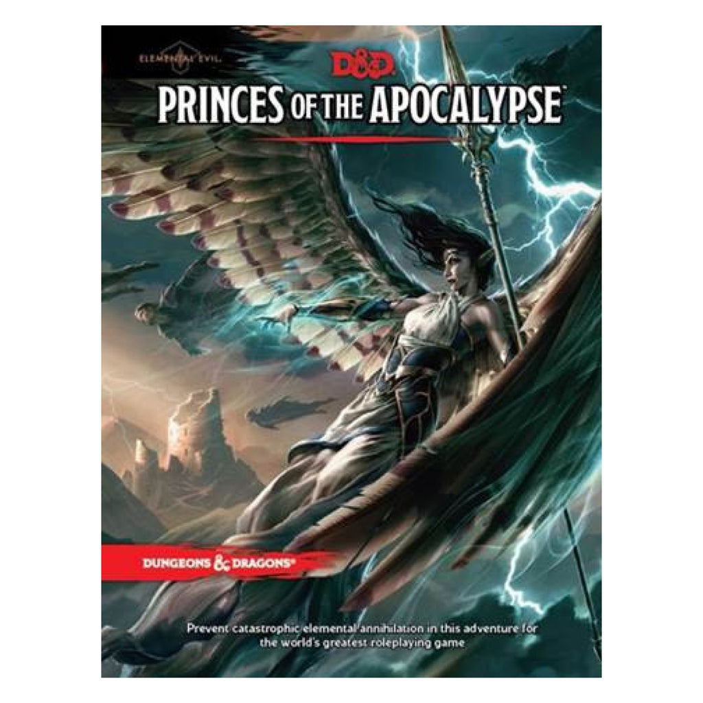 Dungeons And Dragons Elemental Evil Princes of the Apocalypse