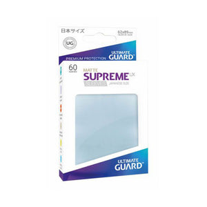 Ultimate Guard Supreme Sleeves Japanese Size Transparent (60)
