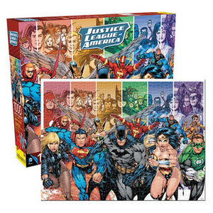 Aquarius Puzzle DC Comics Justice League Puzzle 1,000 pieces
