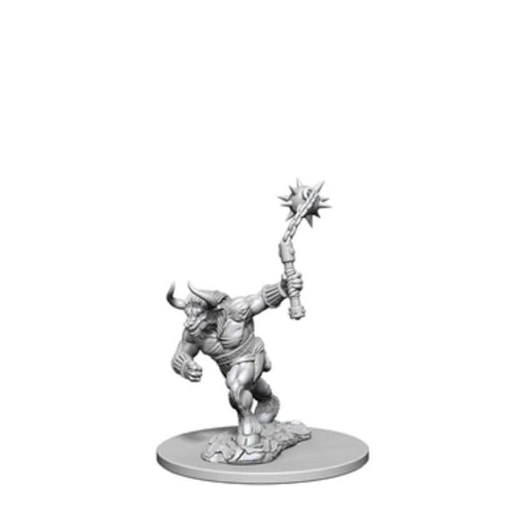 Dungeons And Dragons Unpainted Minis Minotaur