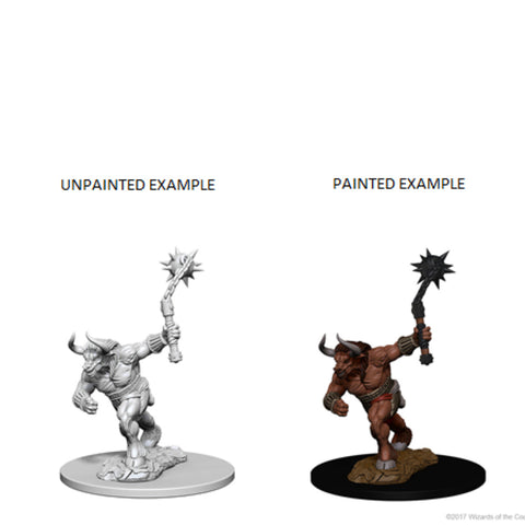 Image of Dungeons And Dragons Unpainted Minis Minotaur