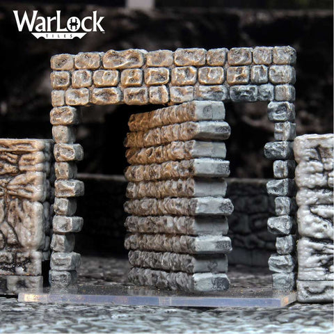 Warlock Tiles Doors and Archways