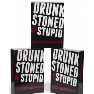 Drunk Stoned or Stupid Extreme Pack