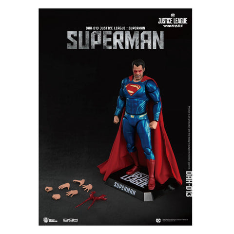 Dynamic Action Heroes Justice League Superman 1/9 Scale
