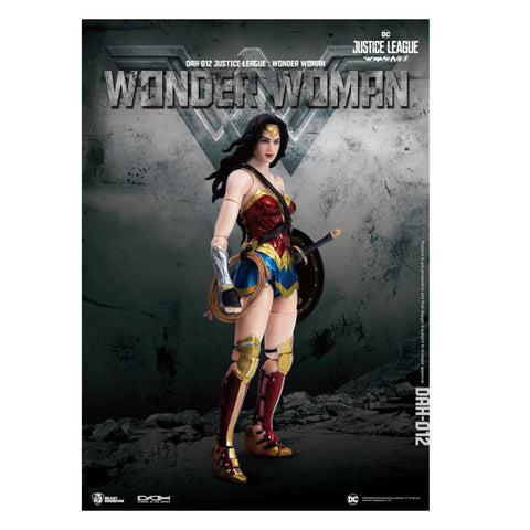 Dynamic Action Heroes Justice League Wonder Woman 1/9 Scale