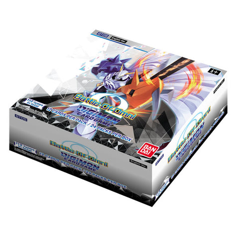 Digimon Card Game Series 05 Battle of Omni BT05 Booster Display