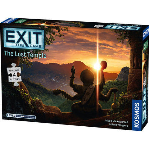 Exit the Game Lost Temple (Jigsaw Puzzle and Game)
