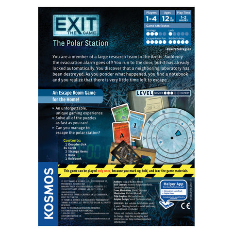 Image of Exit the Game the Polar Station