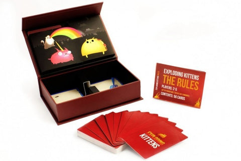Image of Exploding Kittens First Edition Meow Box