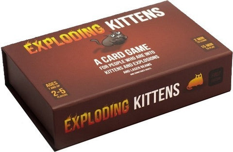 Exploding Kittens First Edition Meow Box