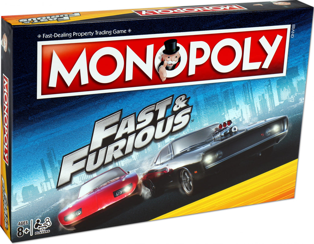 Fast and Furious Monopoly