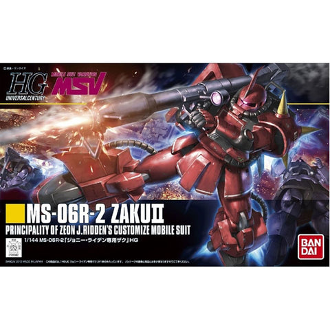 1/144 HGUC MS- 06R-2 Zaku II Johnny Ridden Custom