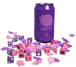 GKR Heavy Hitters Hapsi Can & Faction Dice (Purple Flavor)